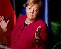 Merkel'den küstah açıklama