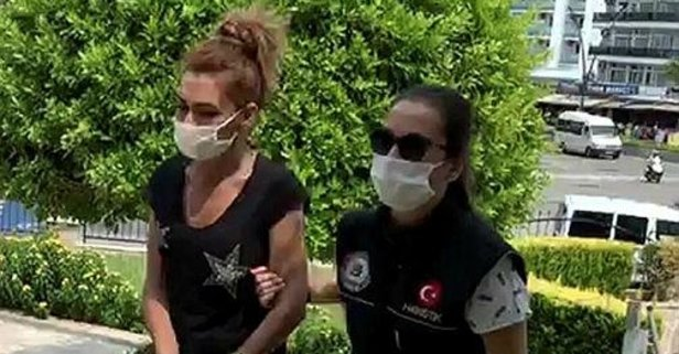 Uyuşturucu hapla yakalanan üniversiteli genç kız tutuklandı