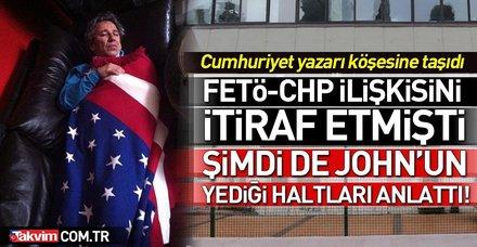 Cumhuriyet yazarı Orhan Bursalı Can Dündar'ın yediği haltları anlattı!
