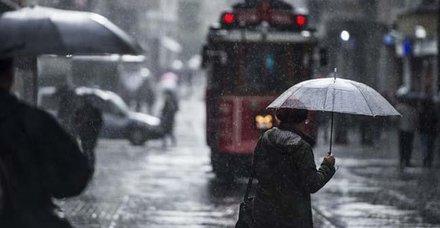 Meteoroloji'den İstanbul için sağanak uyarısı! İstanbul'da hava durumu nasıl olacak? Yurt genelinde hava durumu nasıl?