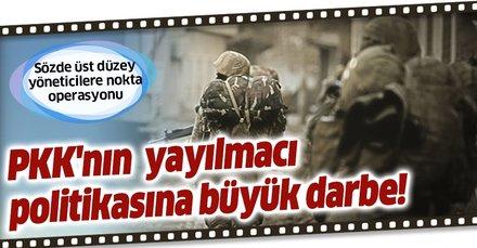 TSK'dan PKK'nın Irak'taki yayılmacı politikasına büyük darbe! Sözde üst düzey yöneticilere nokta operasyonu