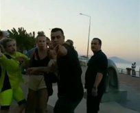 Antalya'da ortalık karıştı! Rus turistlerle birbirine girdiler