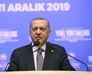 Başkan Erdoğan'dan kadın hakları mesajı
