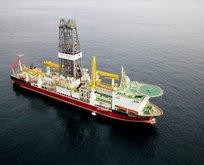 Türkiyenin sondaj gemisi Deepsea Metro-2 geliyor!