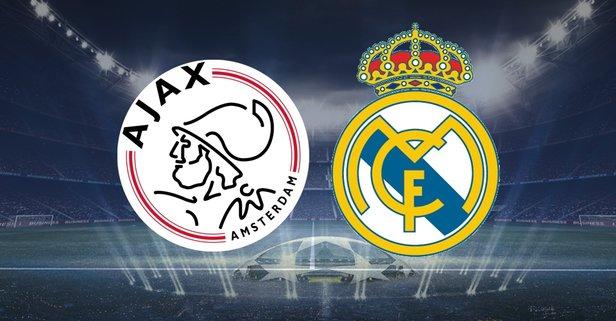 Ajax - Real Madrid maçı hangi kanalda?