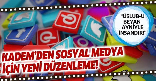 KADEM'den sosyal medya için yeni adım! Harekete geçildi...