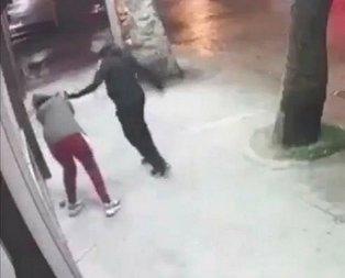 Kadına şiddet dur durak bilmiyor! 17 yaşındaki kızı tekme tokat böyle dövdü