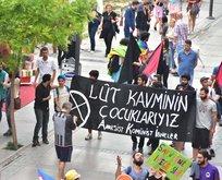 Ramazan ayında İzmir'de iğrenç yürüyüş