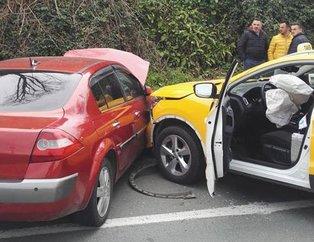 Ünlü futbolcunun eşi trafik kazası geçirdi!