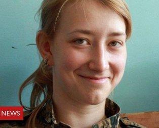 İngiliz kadın terörist Afrinde öldürüldü