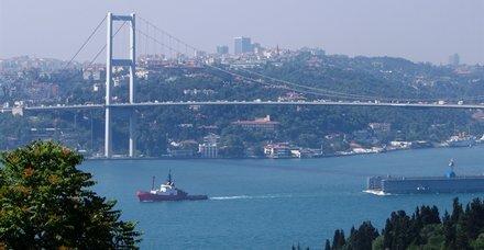 Son dakika haberi: İstanbul Boğazı çift yönlü trafiğe kapatıldı