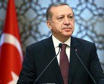 Erdoğan'dan şehit ailesine başsağlığı mesajı