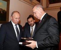 Başkan Erdoğandan Putine hediye