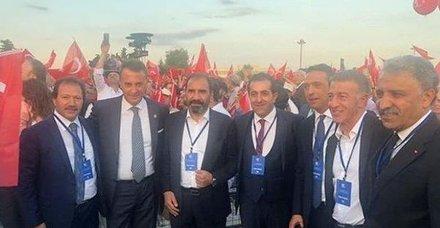 Süper Lig kulüp başkanları Atatürk Havalimanı'nda 15 Temmuz anma programına katıldı