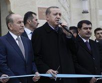 Erdoğan Fatma Fitnat Hanım Camii'ni açtı