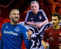 Beşiktaş'tan Kaan Ayhan ve Cenk Tosun açıklaması