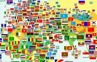 Müslüman ülkelerin bayrakları hakkında şaşırtan detay!