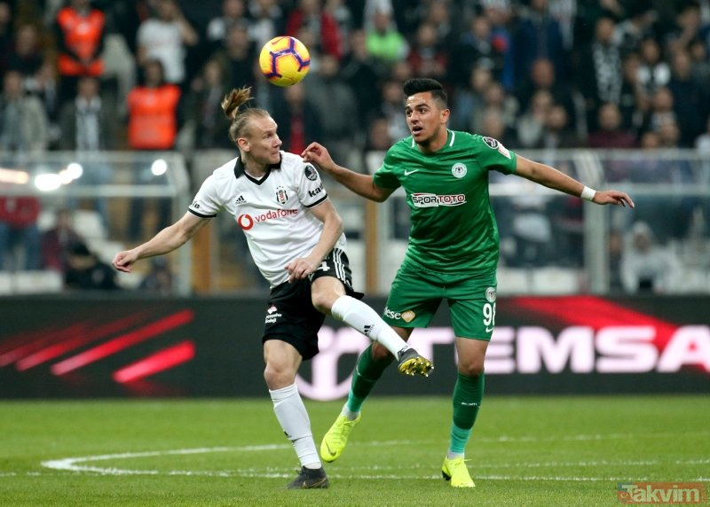 Kagawa Beşiktaş'ı ipten aldı! Beşiktaş 3-2 Konyaspor