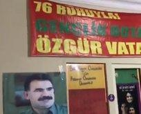 Bakan Soylu'dan HDP binasında çıkan posterlere tepki