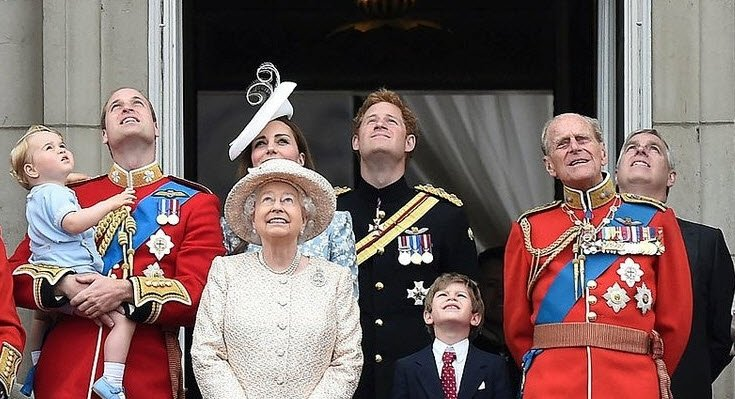 İngiliz Kraliyet Ailesi'nde taht sırası