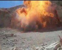 PKK'lı teröristlerin saldırısı önlendi! 12 kilogram...