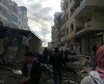 Esad rejiminden İdlib'e saldırı!