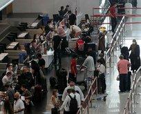 İstanbul Havalimanı'nda bayram yoğunluğu!