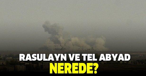 Rasulayn ve Tel Abyad nerede?