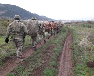 Mehmetçik sınırı böyle geçti! İşte Zeytin Dalı Harekatından son fotoğraflar