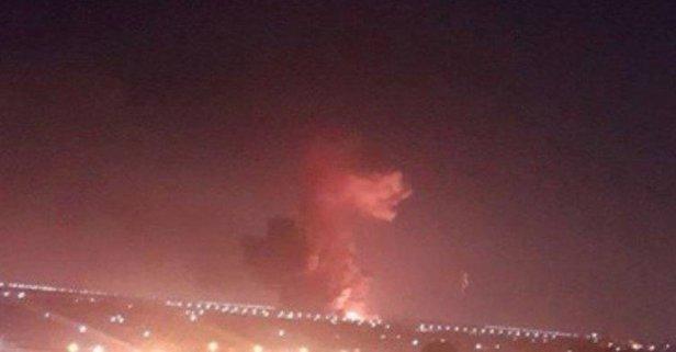 Kahire Havalimanı yakınlarında patlama sesi