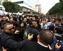 Tunus'ta protesto gösterileri
