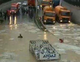 Ankara'yı su bastı!