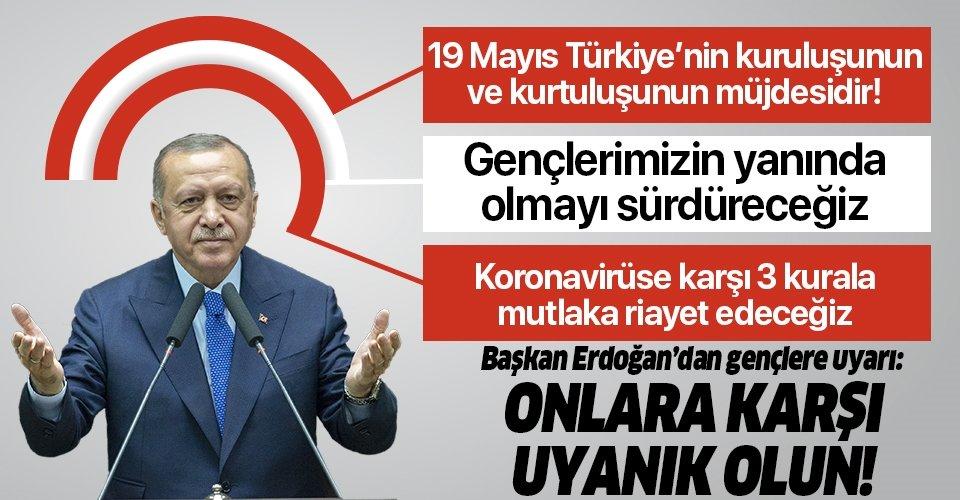 Son dakika: Başkan Erdoğan'dan 19 Mayıs'ın 101. yıldönümünde önemli açıklamalar