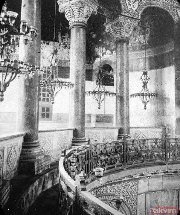 Ayasofya'nın bu yanını daha önce hiç görmediniz! İşte cami olduğu yıllara ait fotoğraflar