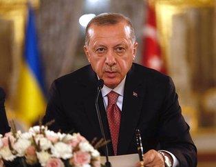 Başkan Erdoğandan flaş Kırım mesajı
