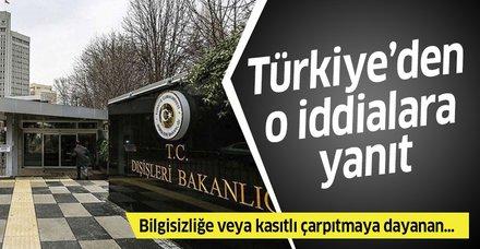 Son dakika: Türkiye'den kıta sahanlığı ve adalarla ilgili iddialara cevap