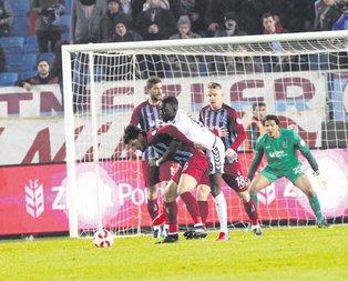 Trabzona kupa şoku