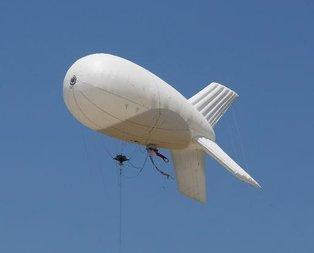 Sınıra insansız balonlu gözetleme sistemi