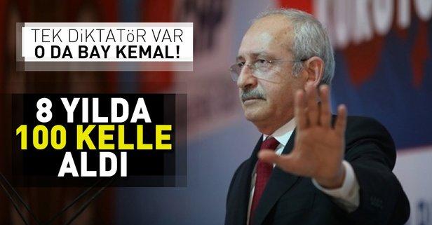 Diktatör Bay Kemal! 8 yılda 100 kelle aldı