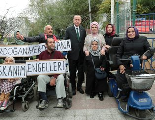 Başkan Erdoğan, Gülseren Özdemir Özel Eğitim Uygulama Okulunun açılış törenine katıldı