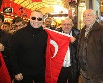 Sanatçılar Mehmetçike destek için Hatayda