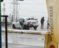 Feci olay! Kazada aracın kapısı açılınca...