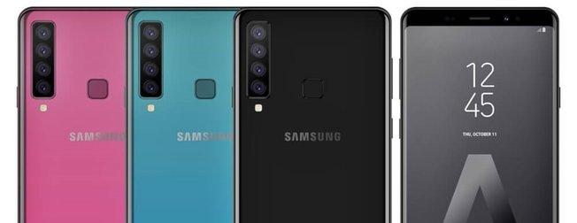 Samsung A9 (2018) dört kamera özellikleri neler? Samsung A9 Türkiye'de ne zaman satışa çıkacak?