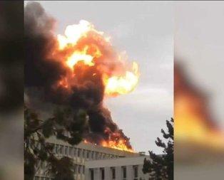 Fransa'da patlama!