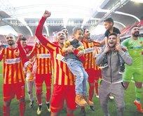 Kayserispor 6 haftalık hasrete son verdi!