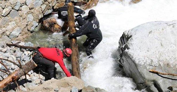 Bayburt'tan acı haber! Suya kapılan iki asker şehit oldu