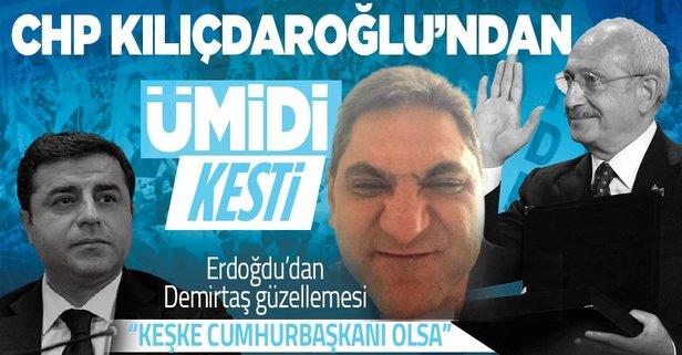CHP'li Aykut Erdoğdu'dan Selahattin Demirtaş güzellemesi: İnşallah cumhurbaşkanı seçilir - Takvim
