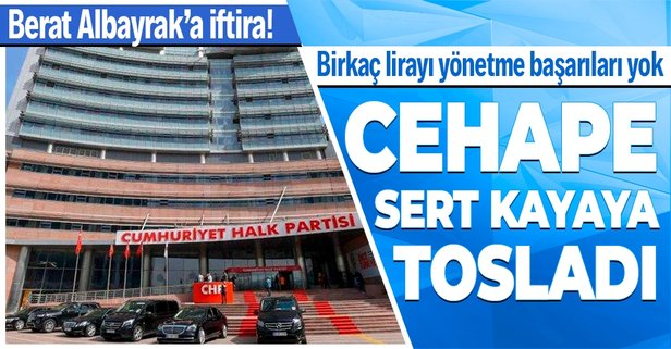 AK Parti'den CHP'ye Berat Albayrak tepkisi