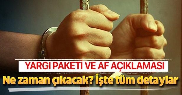 Başkan Erdoğan'dan Yargı Reformu ve af açıklaması!
