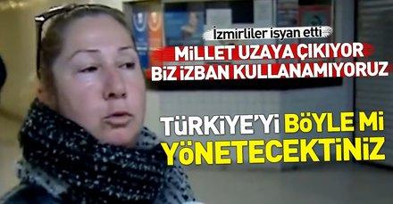 İzmirliler isyan etti! İZBAN'da grev 17. gününde